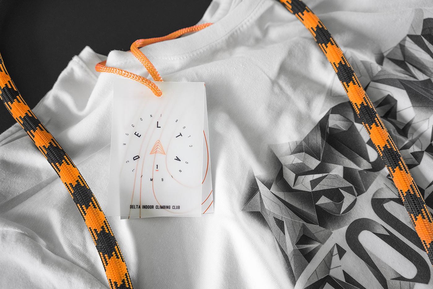 stationary branding  climbing gym sports fitness shirt sport extreme poster