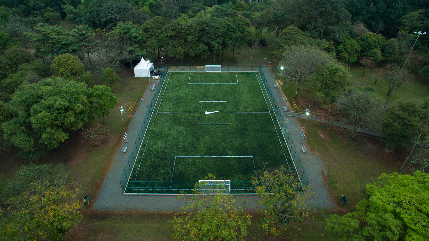 Architecture & Branding: Nike Ibirapuera Football and Running