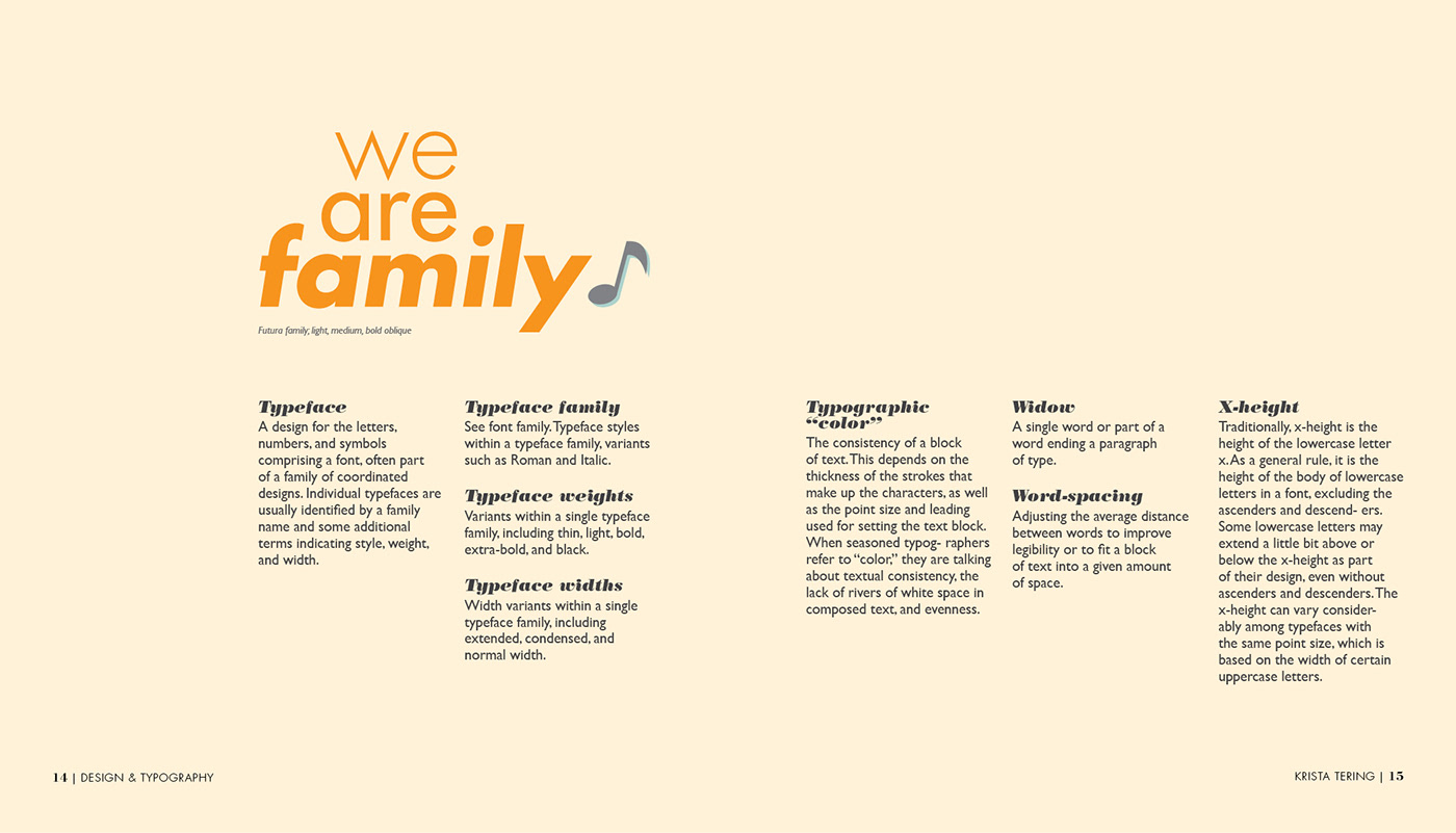 editorial design  Layout typography