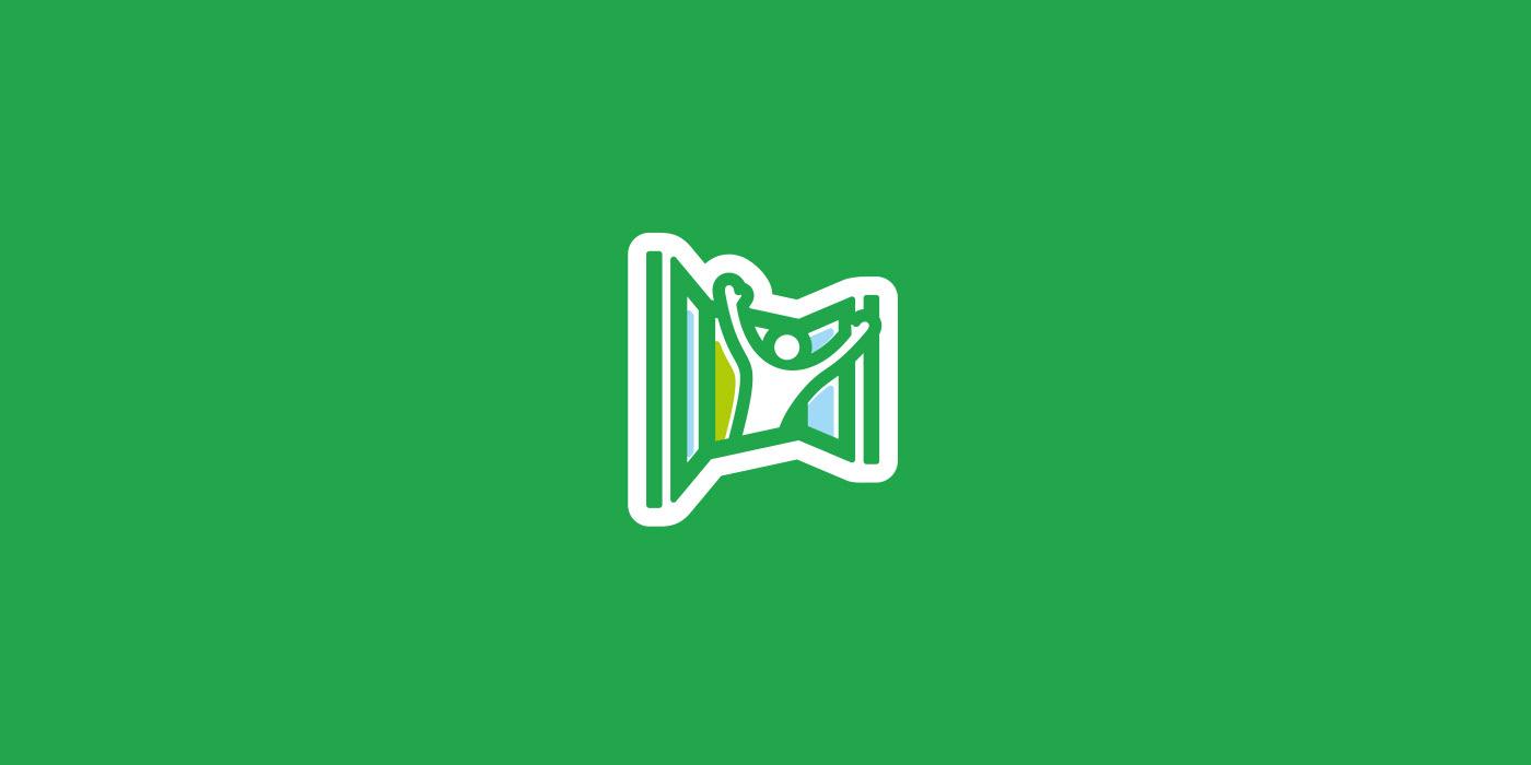 OknaClick. Logo for construction company.