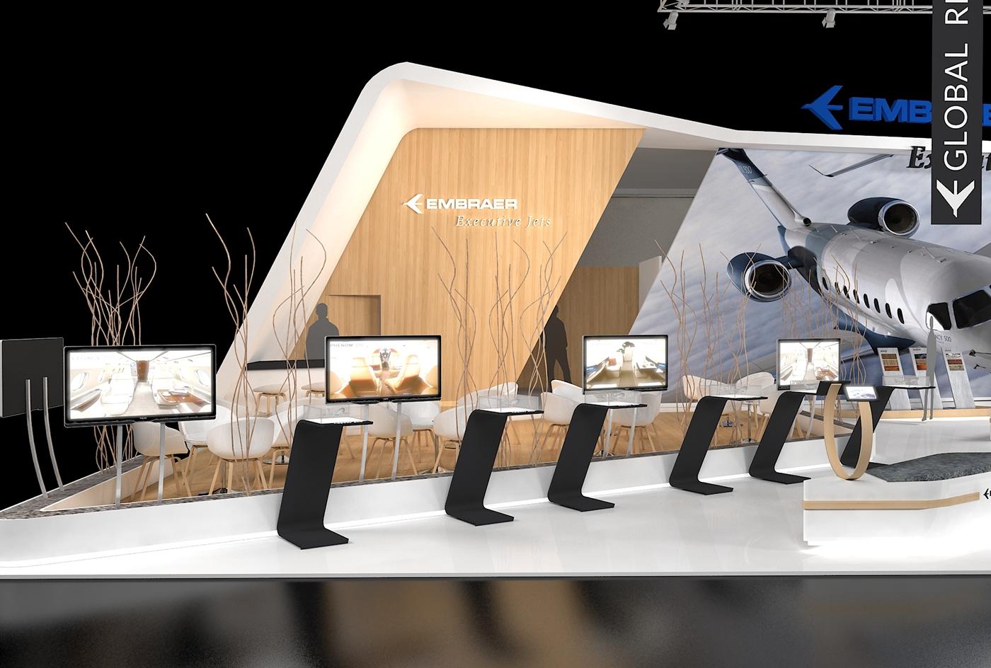 Exhibition Stand Design booth DaseinDesign 3D