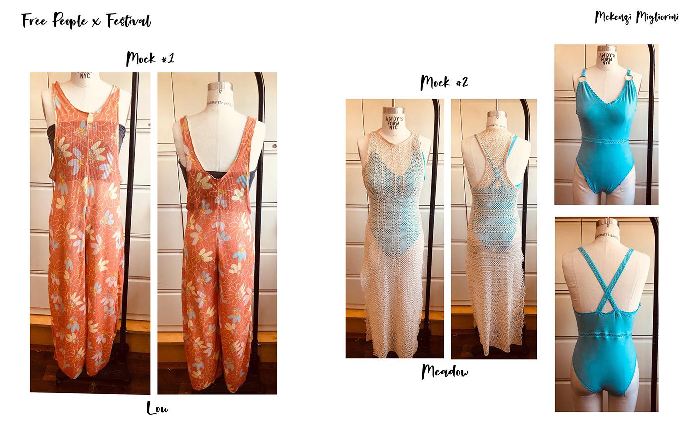 free people fashion design fashion illustration technical flats trend concept development story mood print mocks