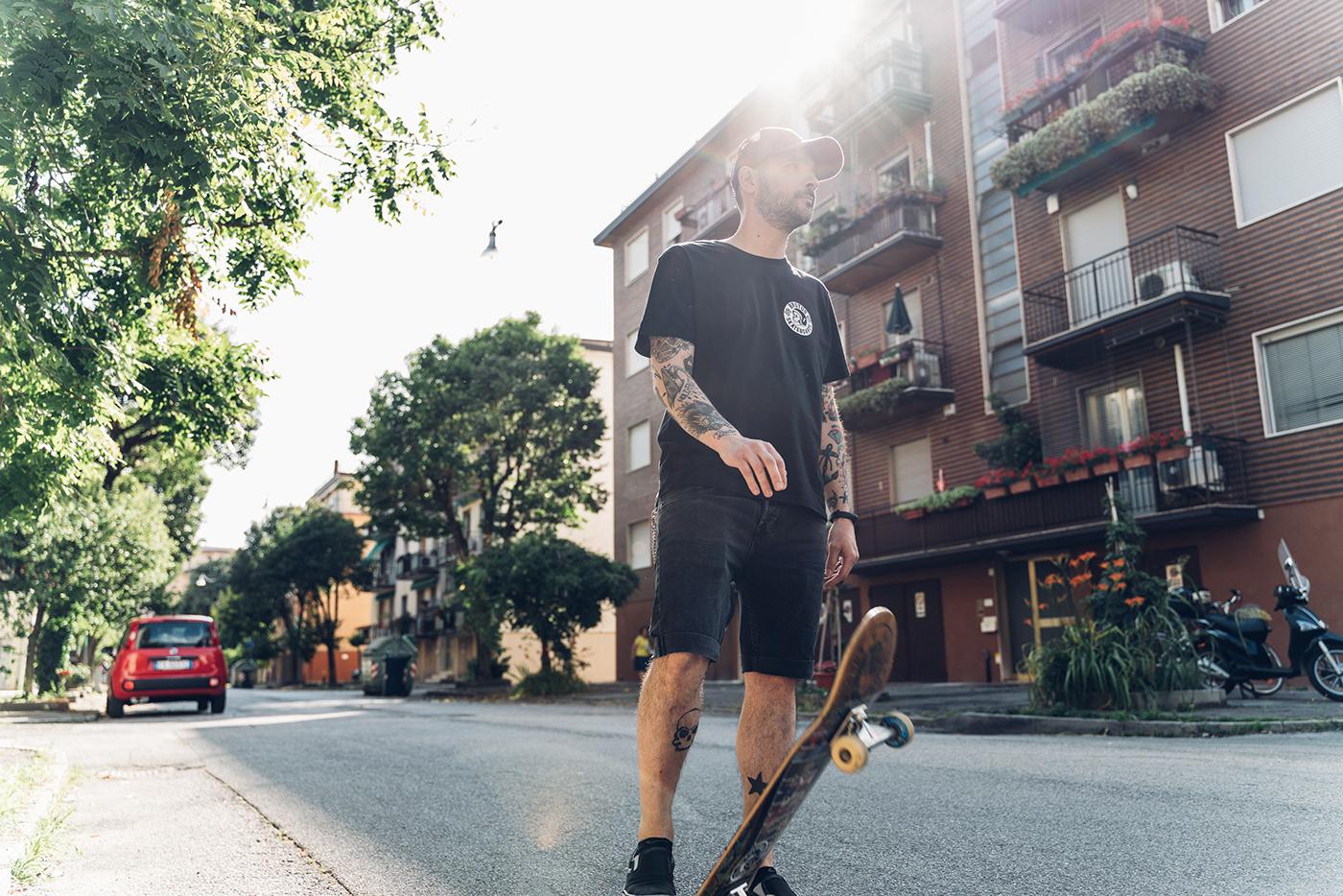 Image may contain: road, skating and outdoor
