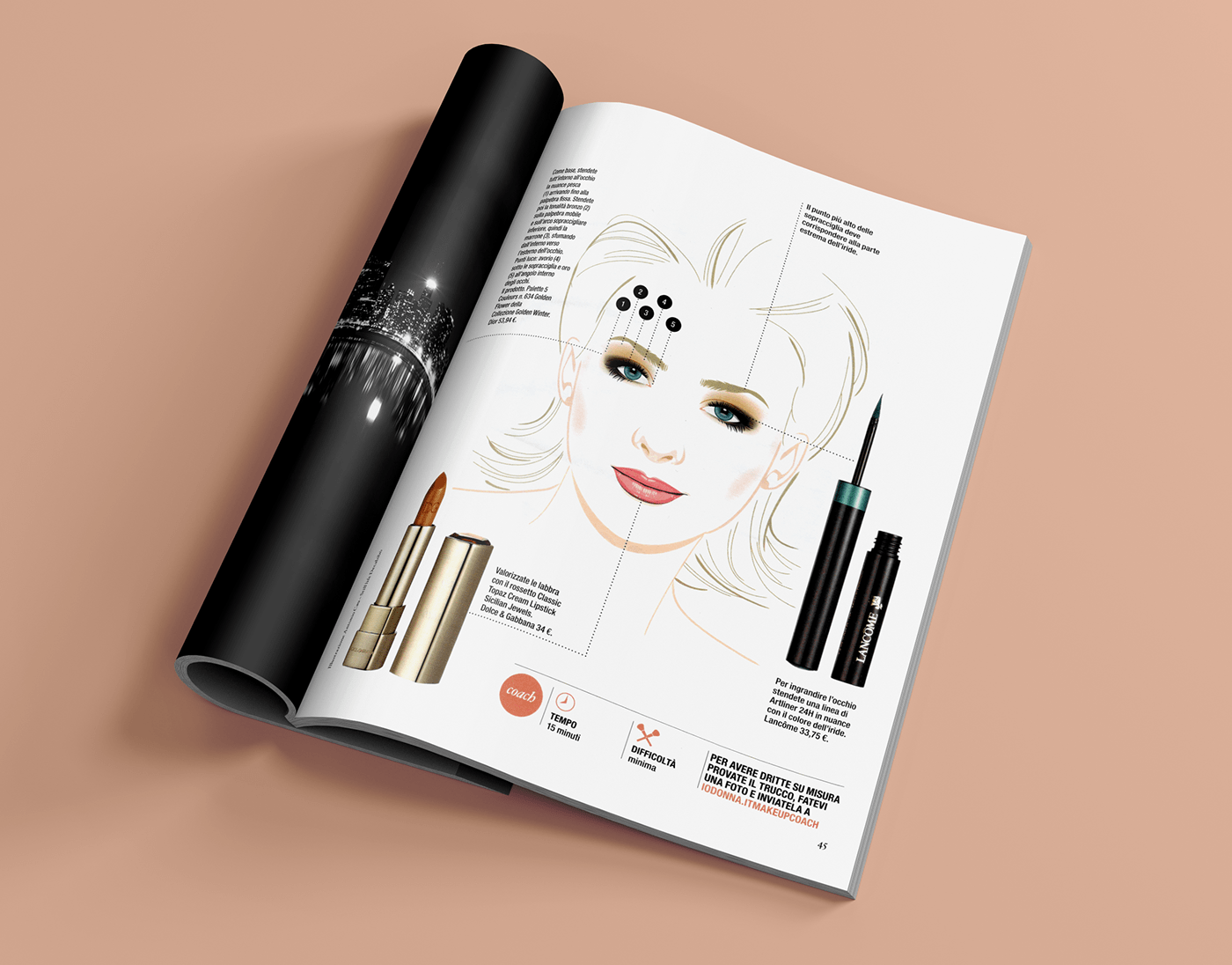 beauty Illustrator Vectorial vettoriale