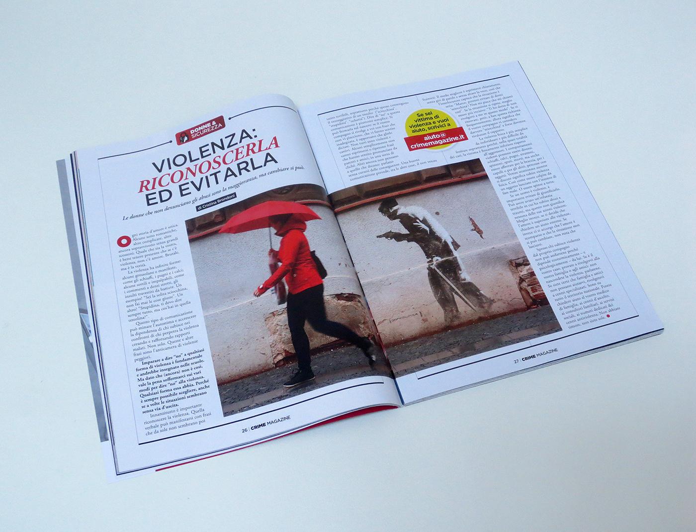 Crime Magazine 01 02 On Behance