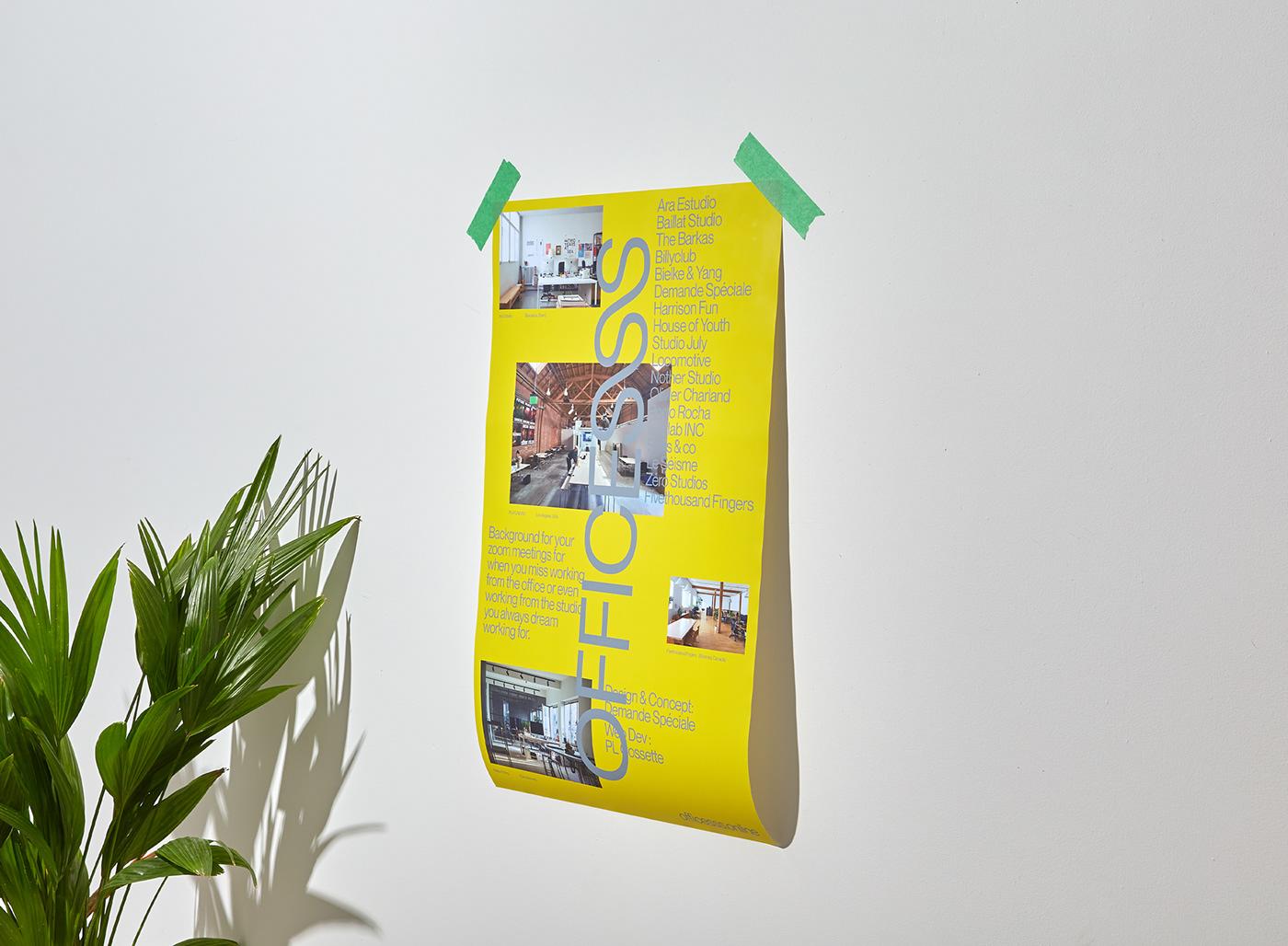 Office COVID-19 design zoom