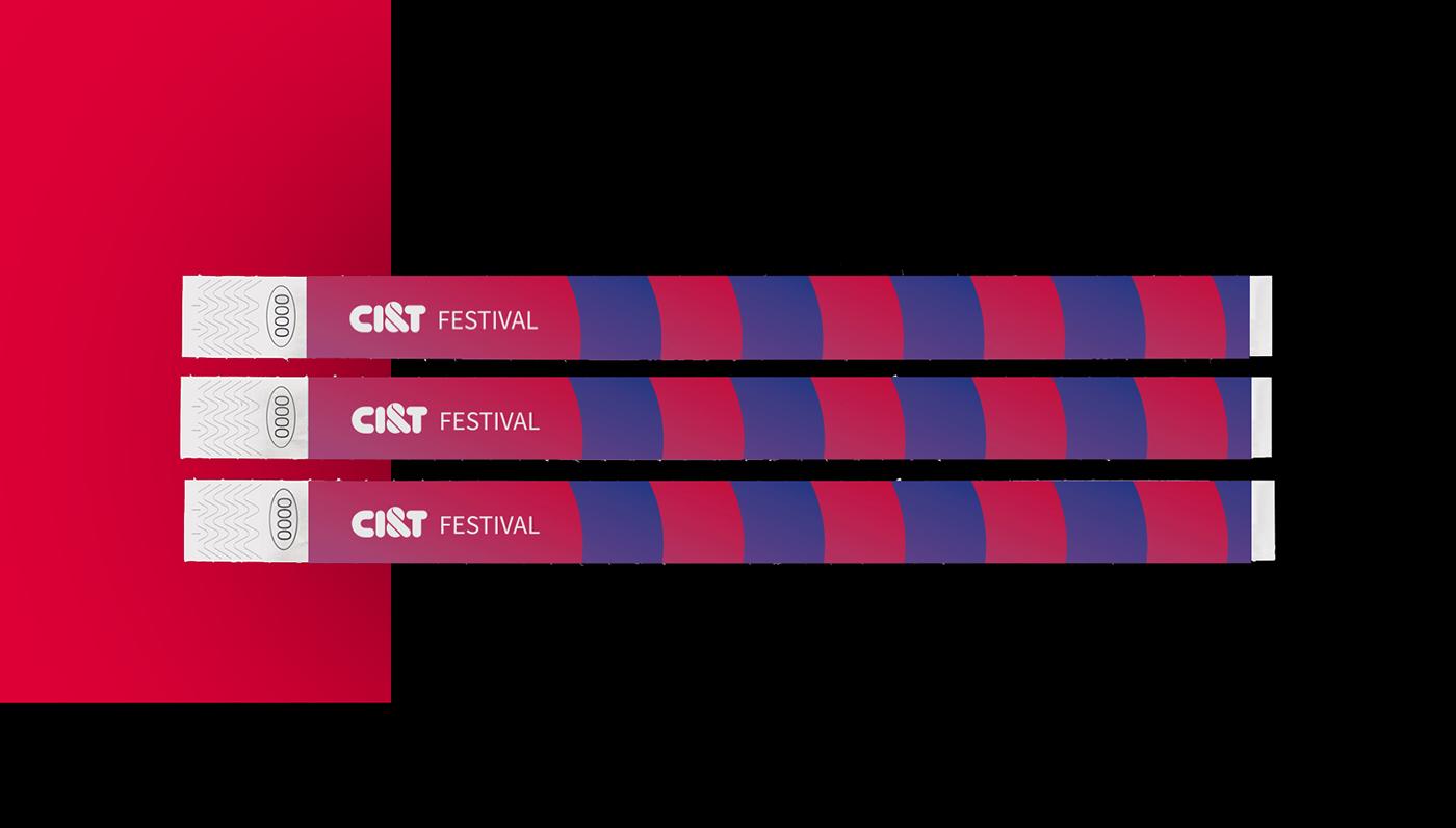 festival identity music brand Ci&T culture Event poster