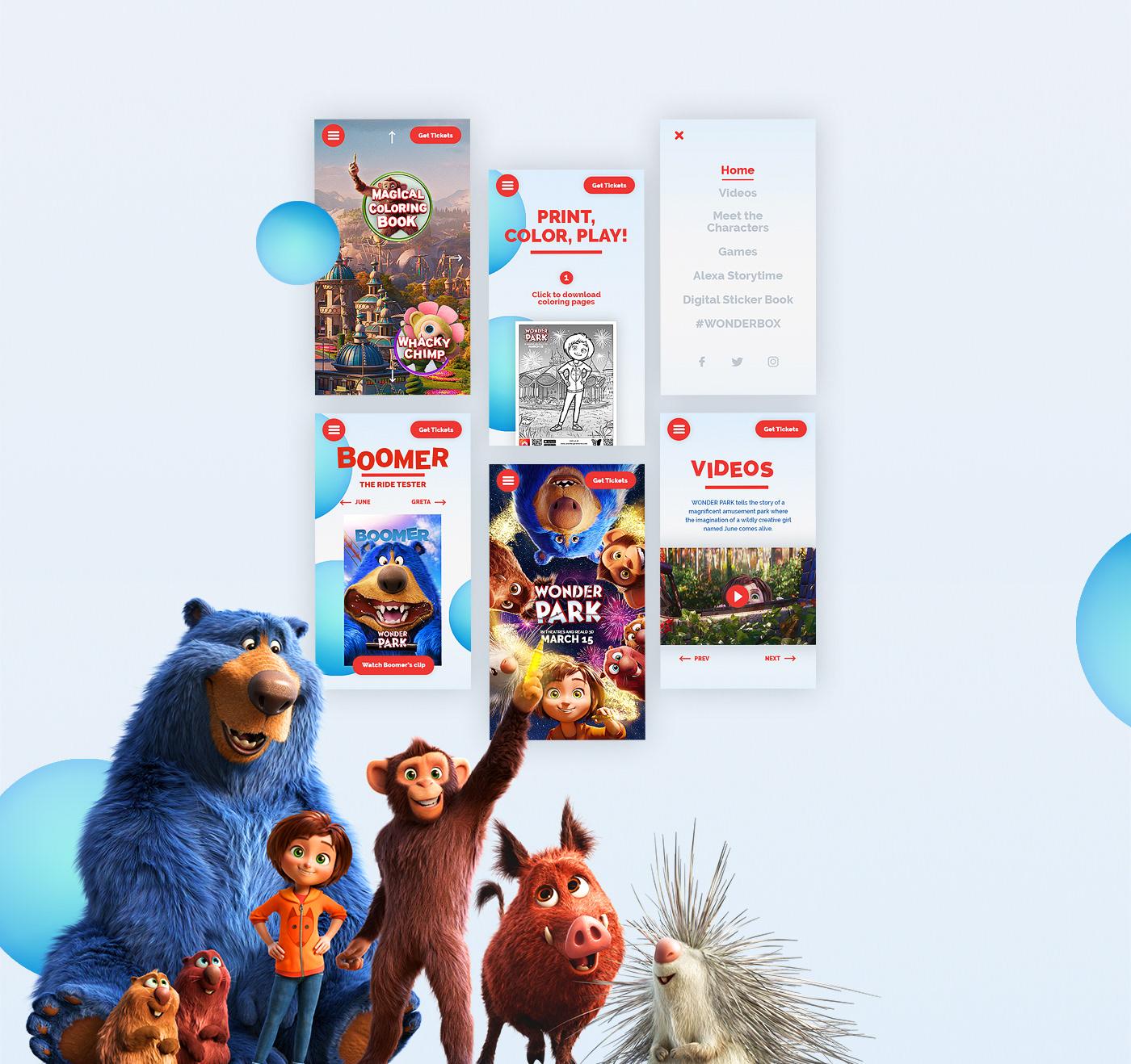 movie,animals,animated,kids,Magic  ,3D