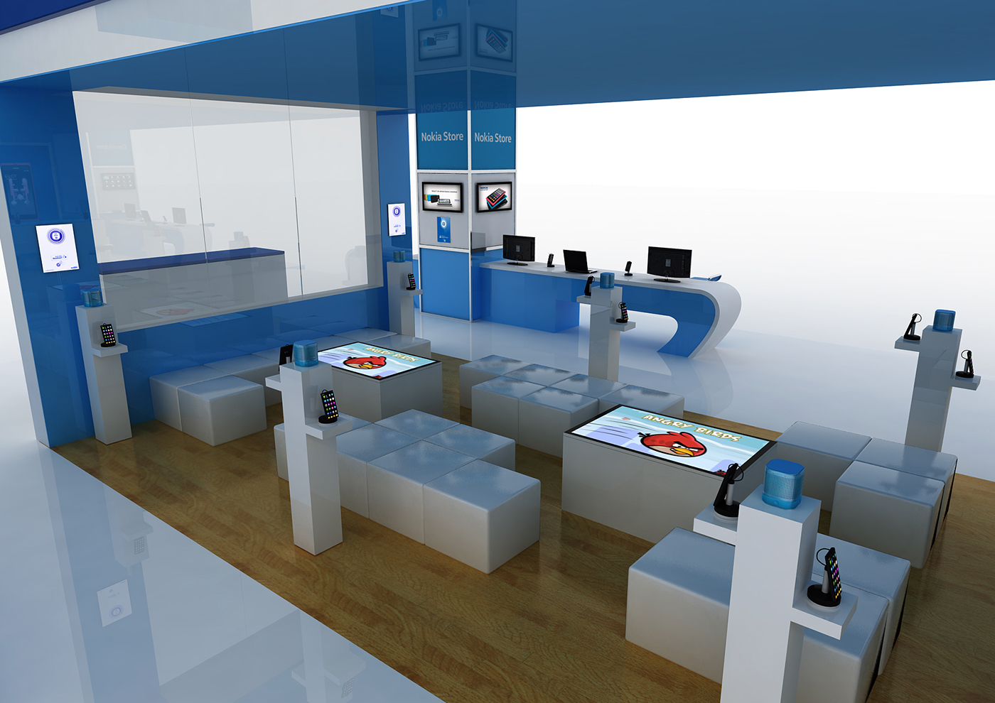 nokia Exhibition  Gitex dubai