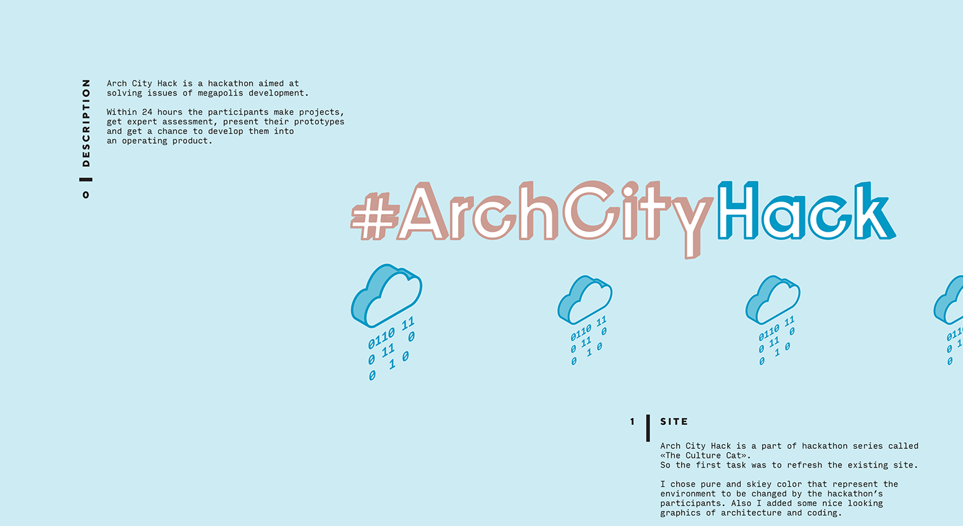 Arch City Hack on Behance