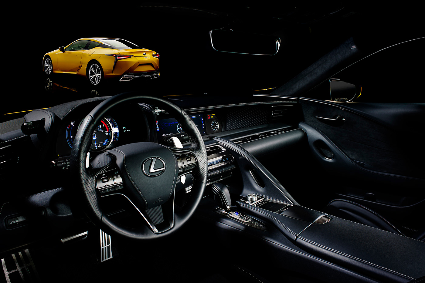 dmitry zhuravlev Photography  automotive   Lexus Lexus LC 500 Esquire