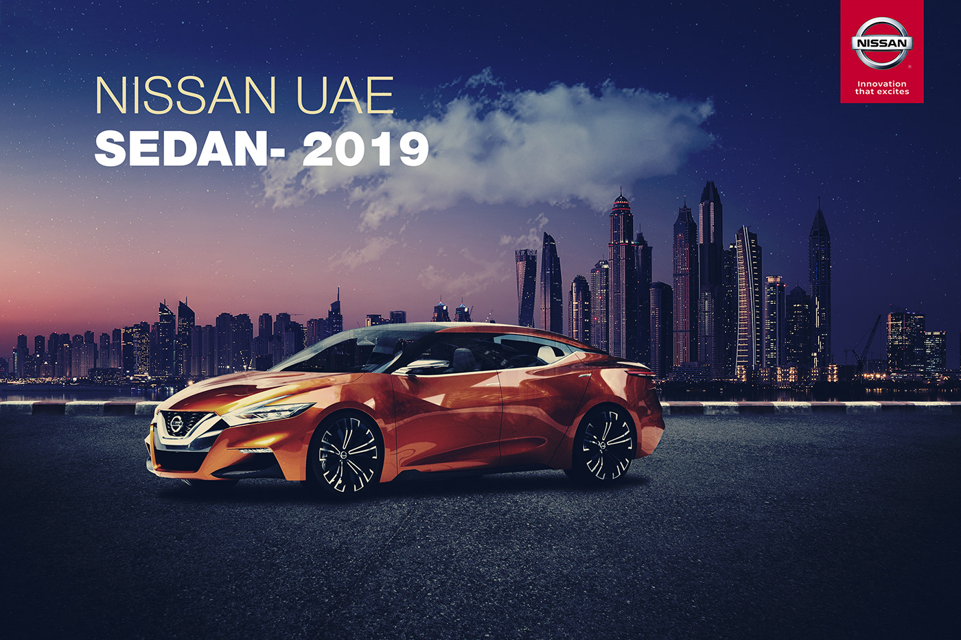 Nissan UAE - Campaign 2019 on Behance