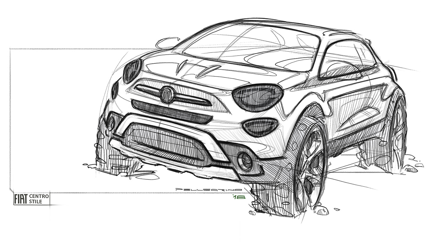 有創意感的20個概念車草圖設計欣賞