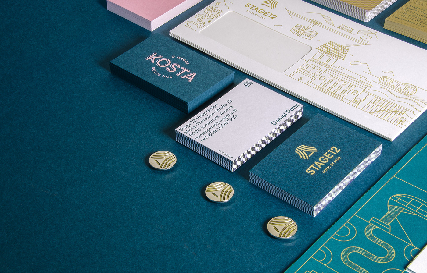 Stage 12 — Hotel by Penz Branding by Icarus Creative