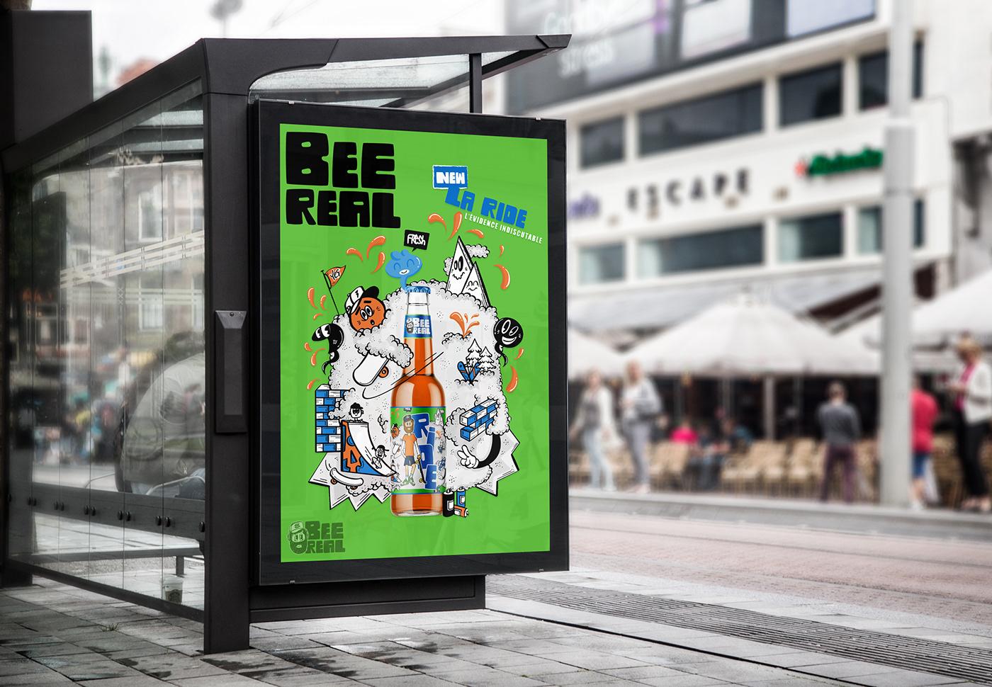Image may contain: outdoor, cartoon and billboard