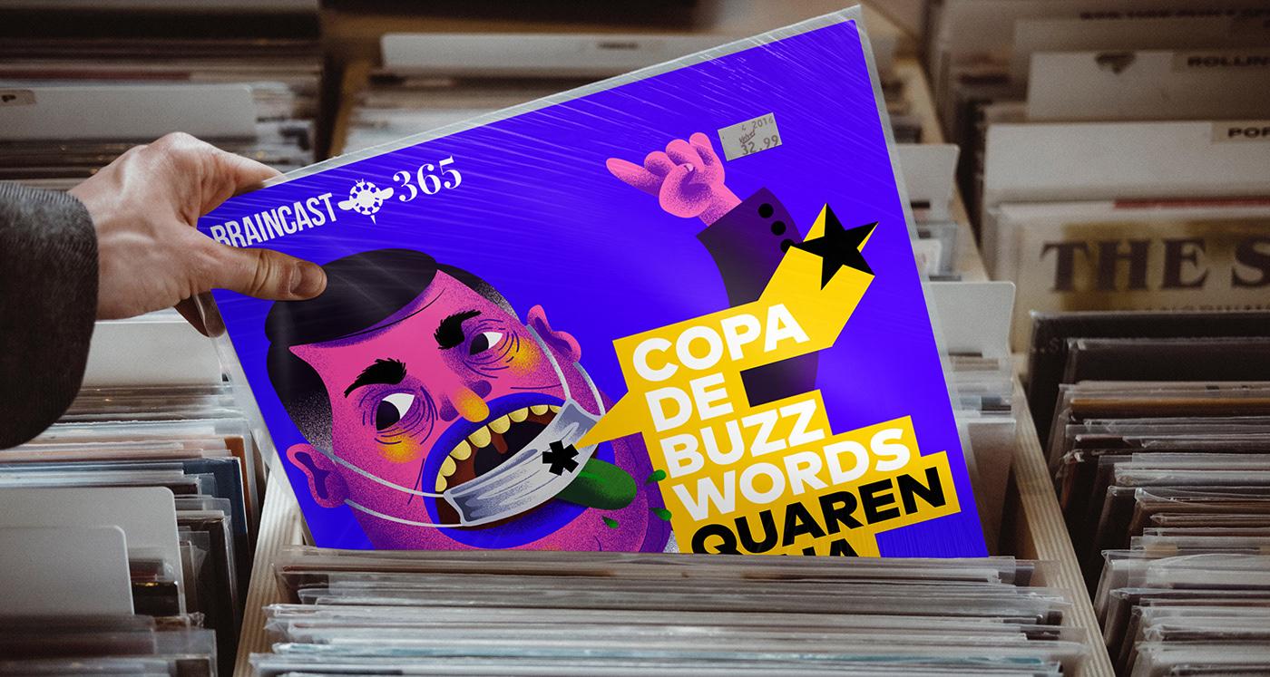 b9 Braincast brainstorm9 Brazil Capa Collection cover network podcast record