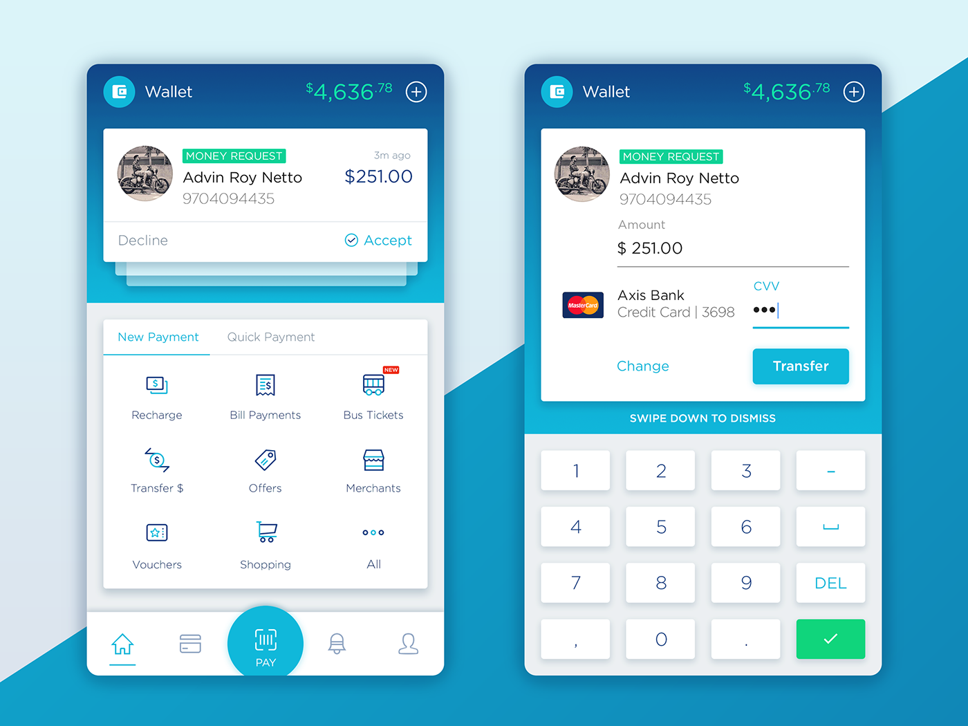 Wallet Concept For Android On Behance