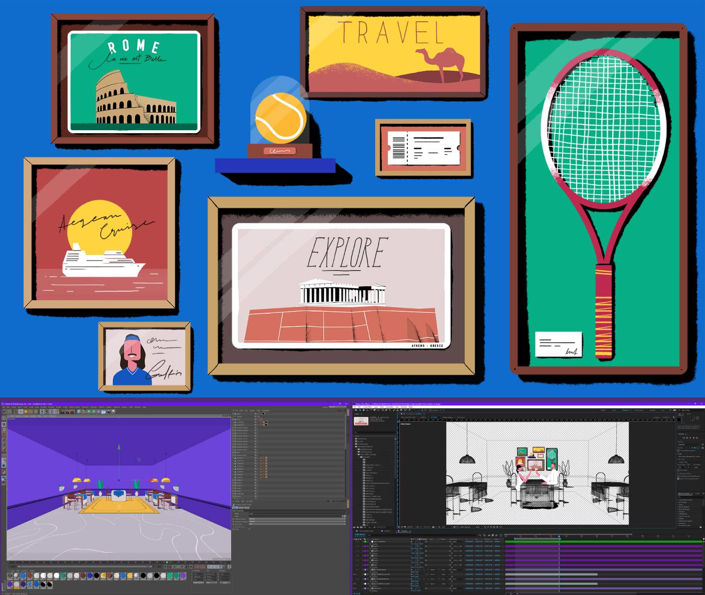 Image may contain: screenshot, cartoon and athletic game