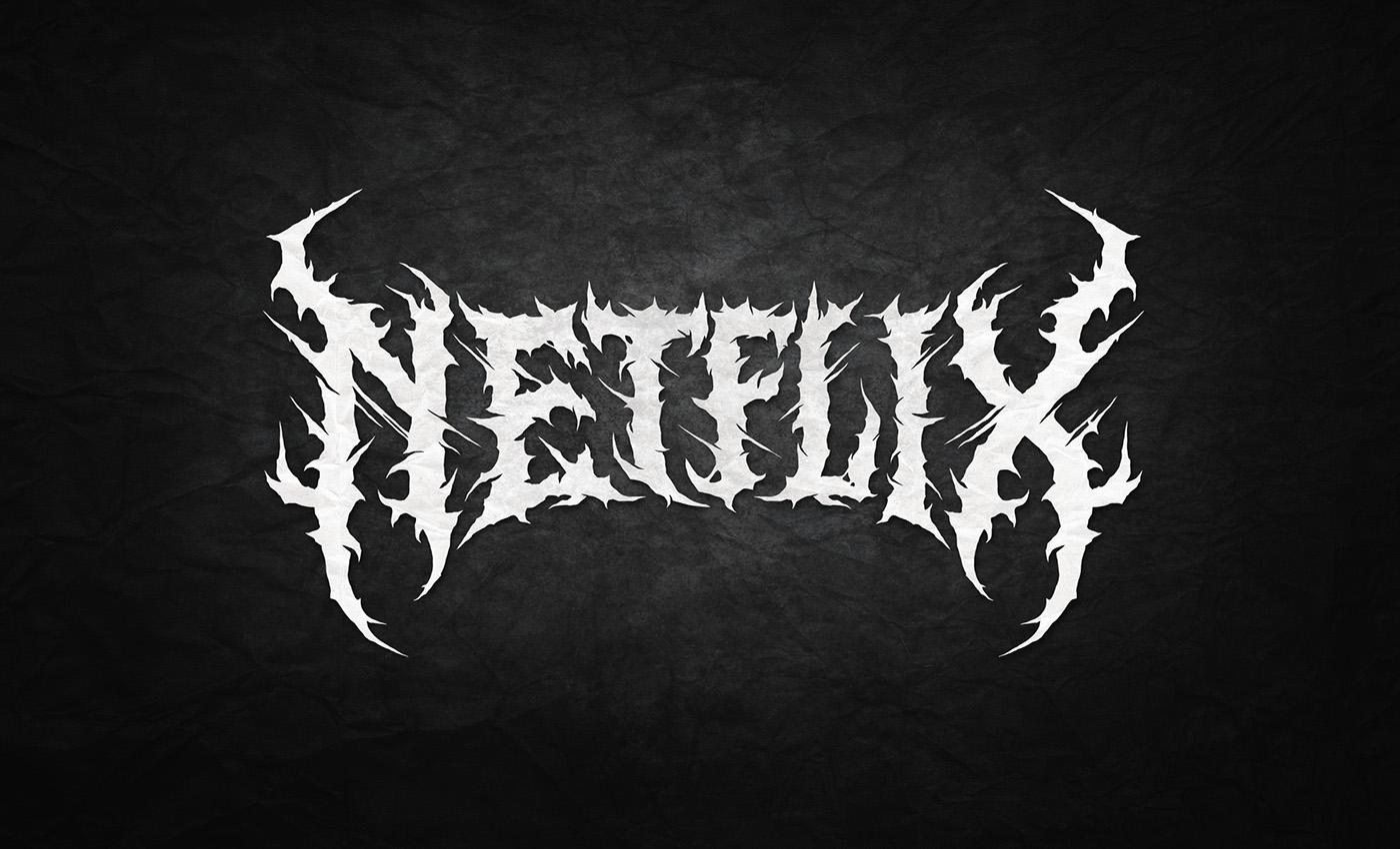 Black // Death Metal logos 2016 on Behance