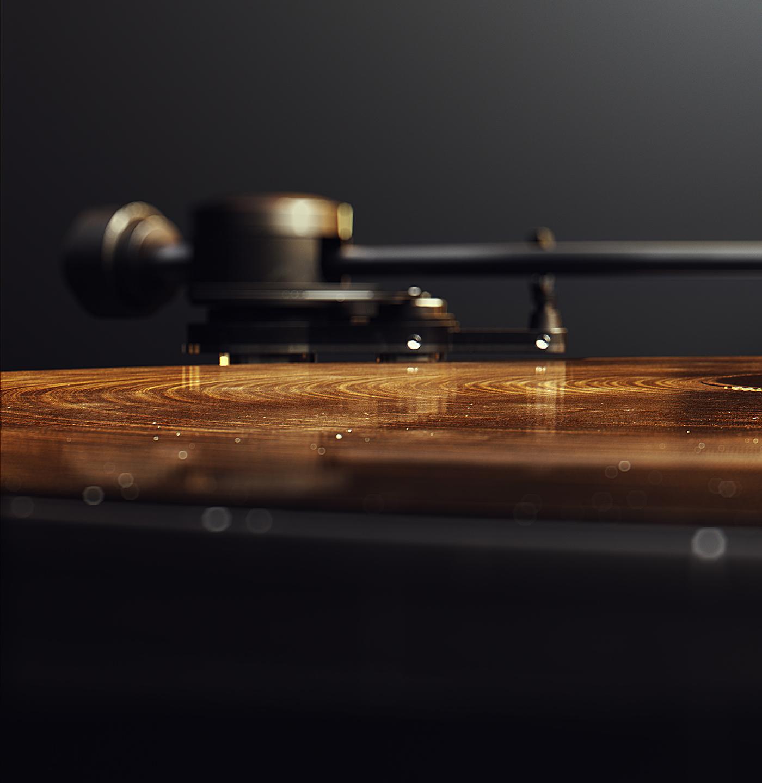 3D CG Renders close-up website header materials visualization