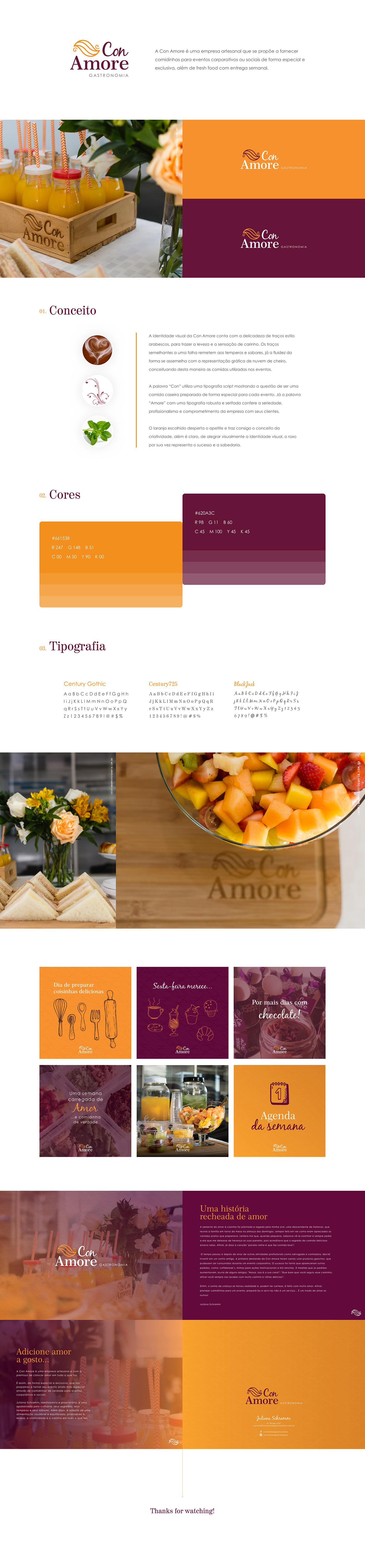 eventos gastronomia snacks amor Coffee Love Food  delicius brand logo orange purple