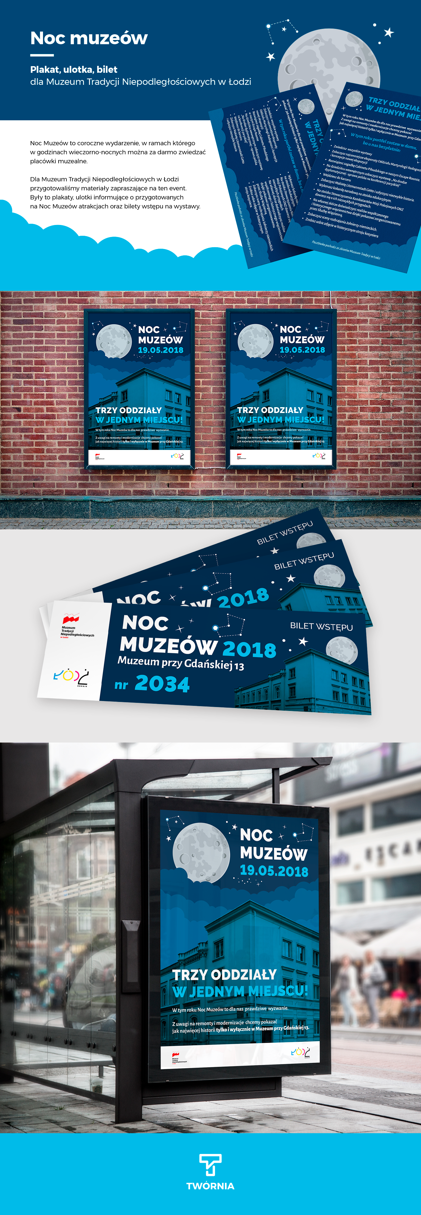 poster ticket leafleat plakaty Ulotki bilety muzeum museum