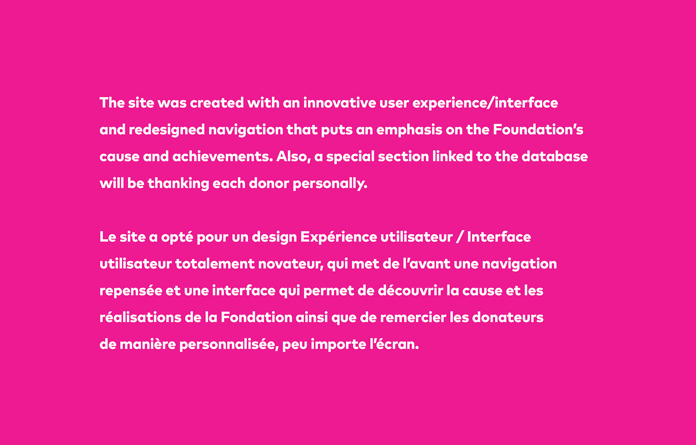 graphic design ,Website,site web,pédiatrie,imagerie,user experience,user interface,Fondation,child care,foundation