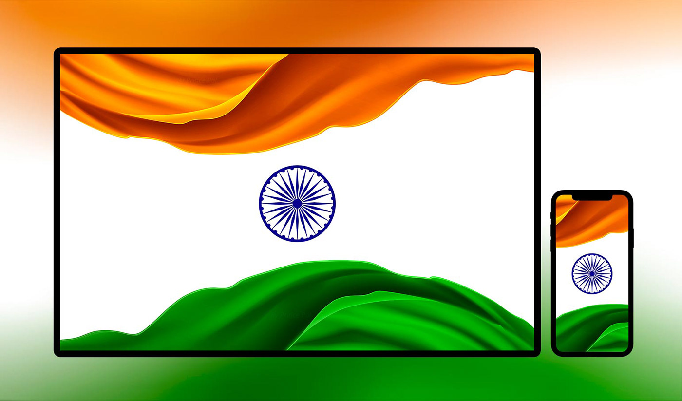 Tiranga India Flag Wallpaper Art Work On Behance