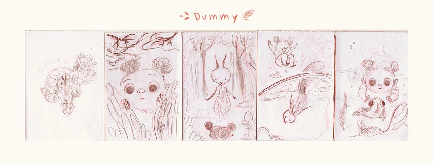 childrensbook picturebook Beatriz Mayumi beatrizmayumi visualdevelopment insidethegarden livroinfantil claricelispector childrens