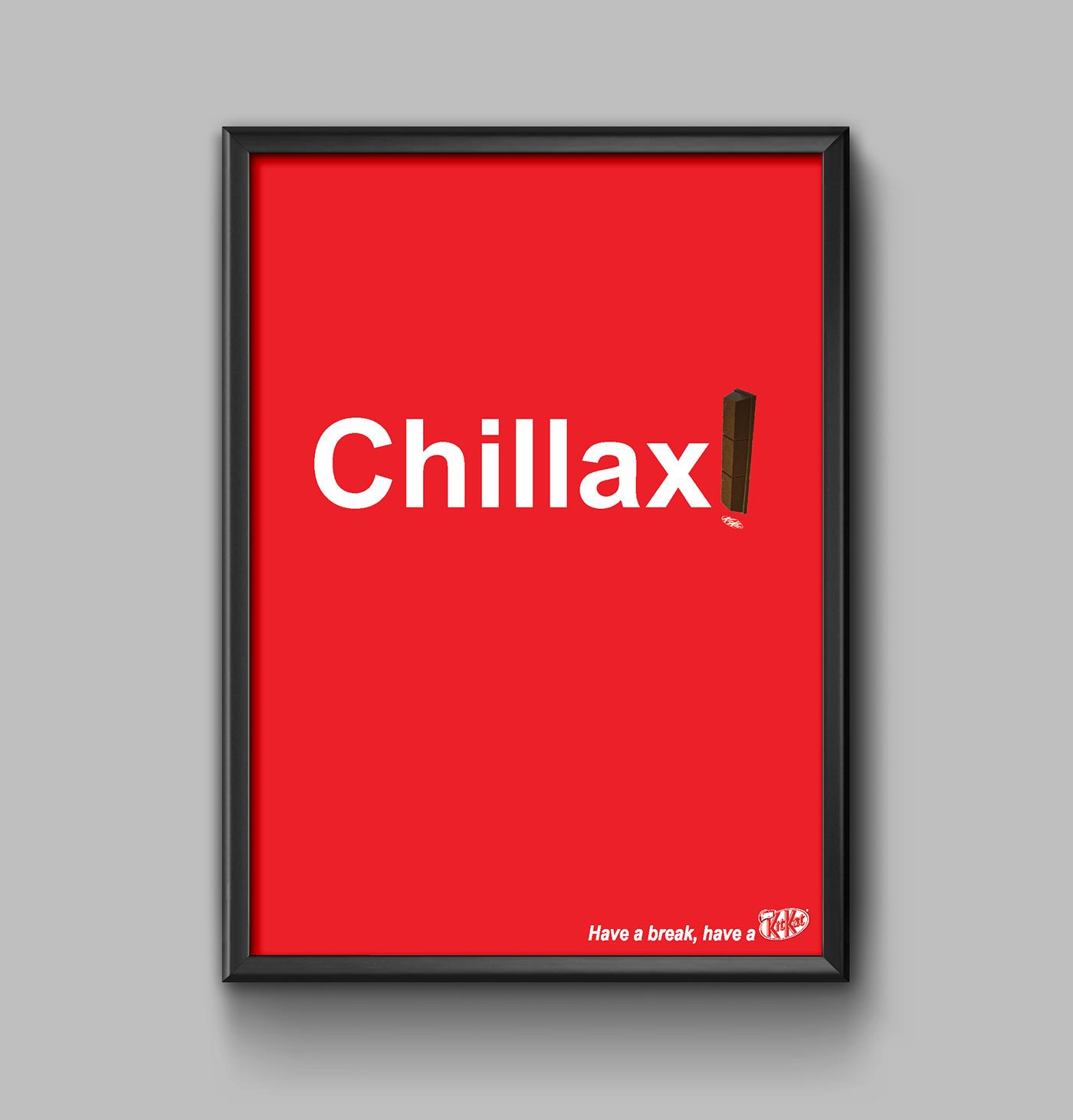 Kitkat Poster Ad on Behance