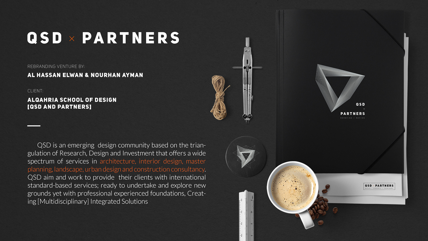 QSD x Partners Brand Identity on Behance