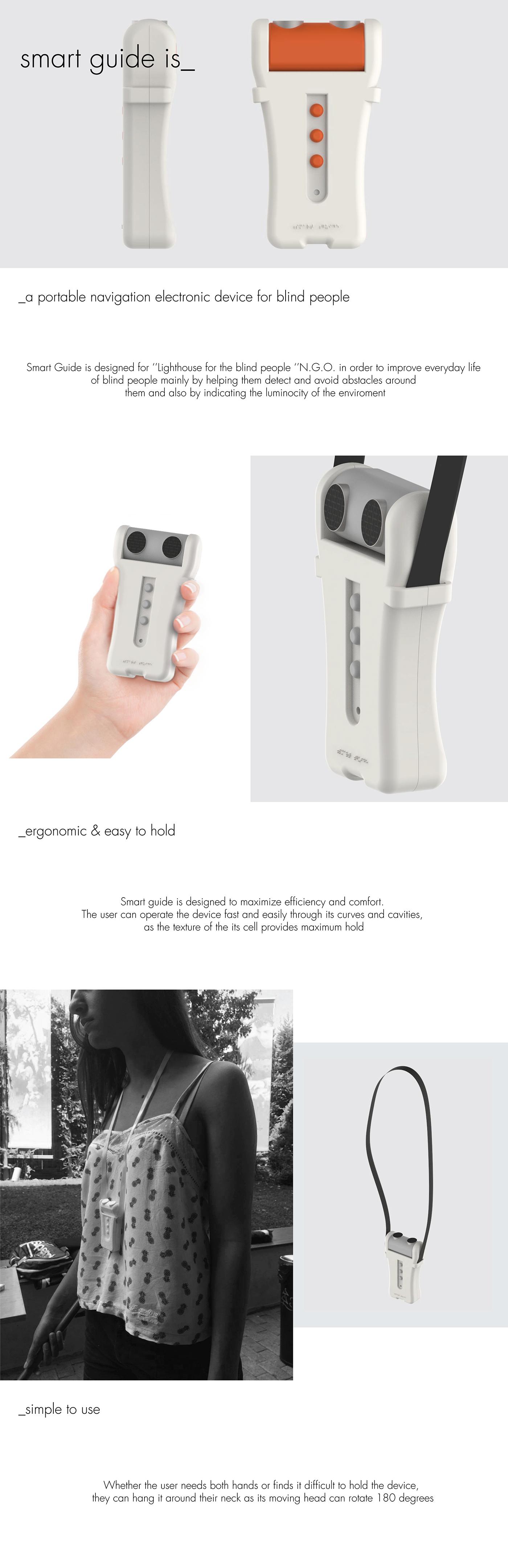 navigation blind industrial design  product design  social impact