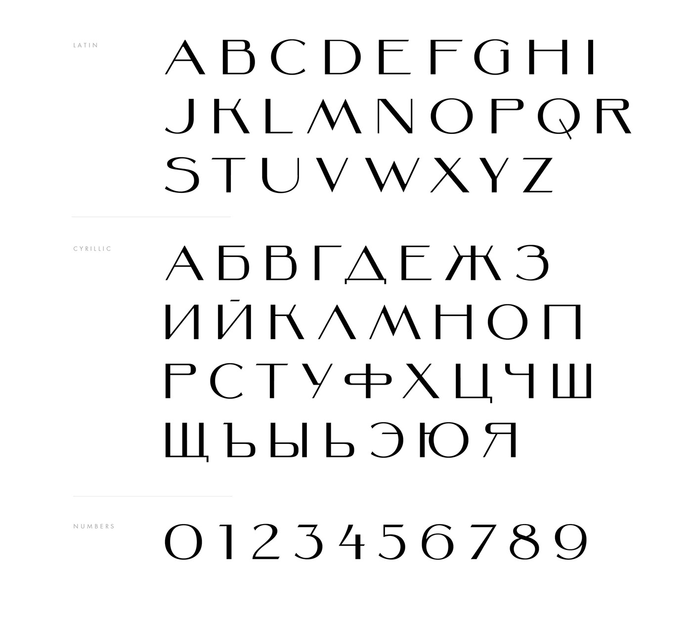 font free Typeface кириллица Латиница   типографика шрифт