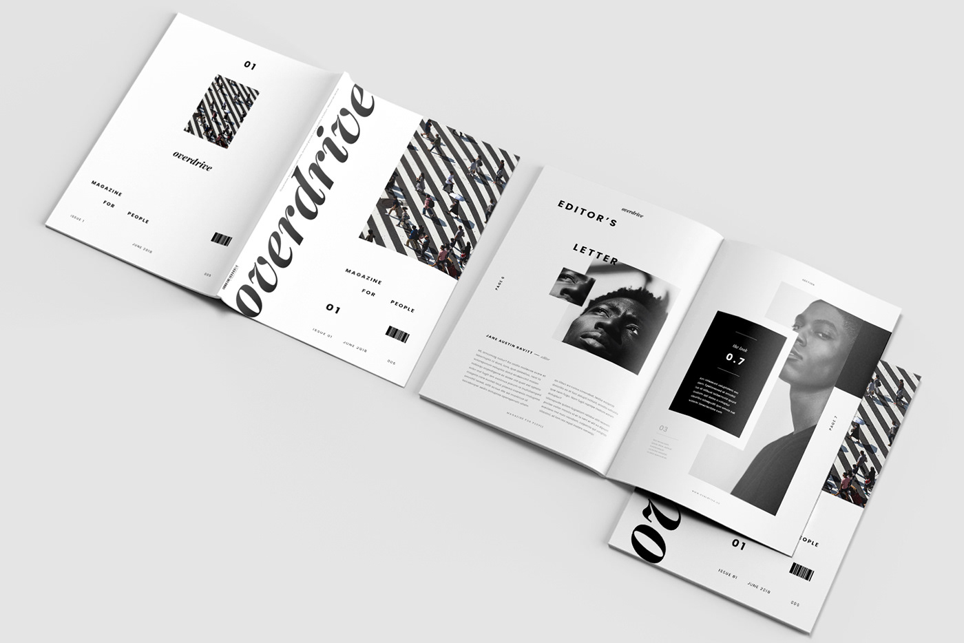 Overdrive Magazine On Behance