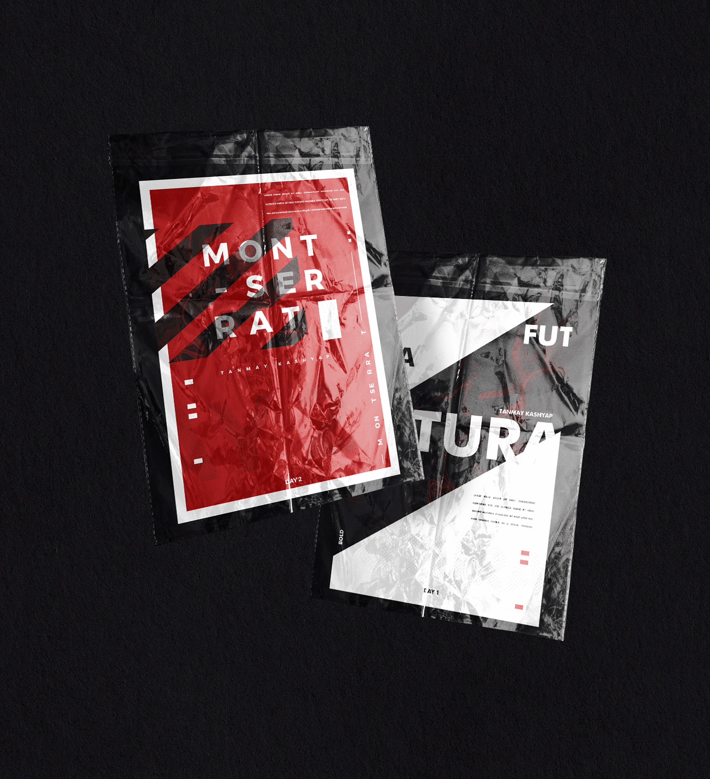 graphic poster acid art graphic design  Mockup poster collection type Urban