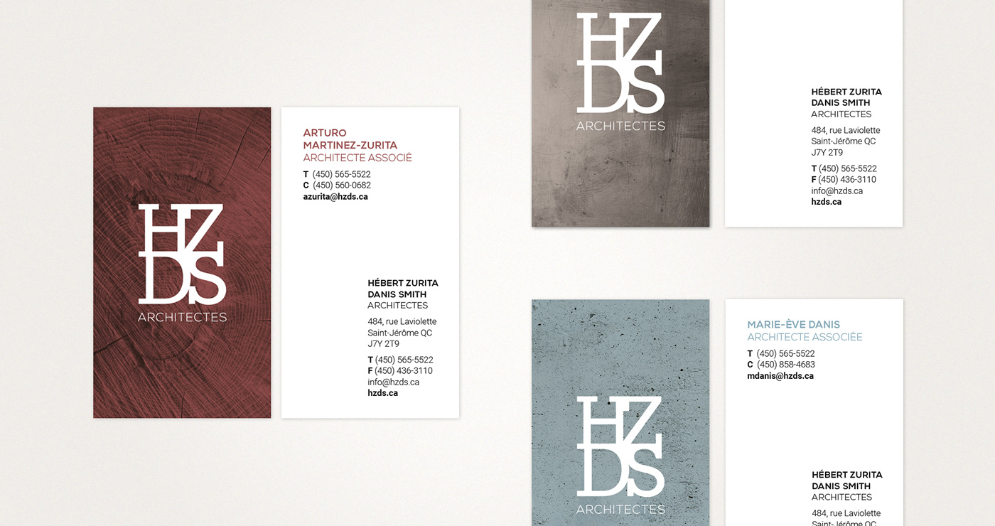HZDS | Business cards