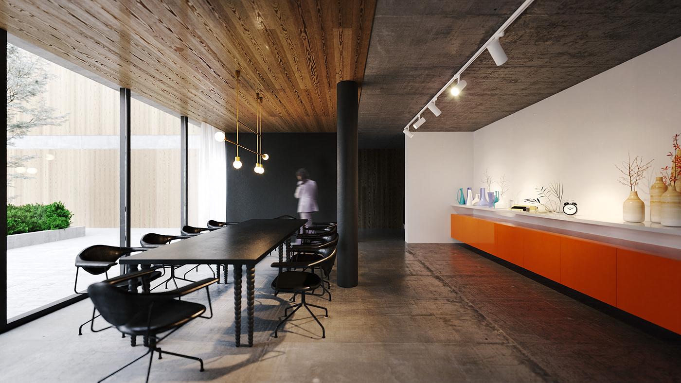 achitecture rendering archviz design Interior corona
