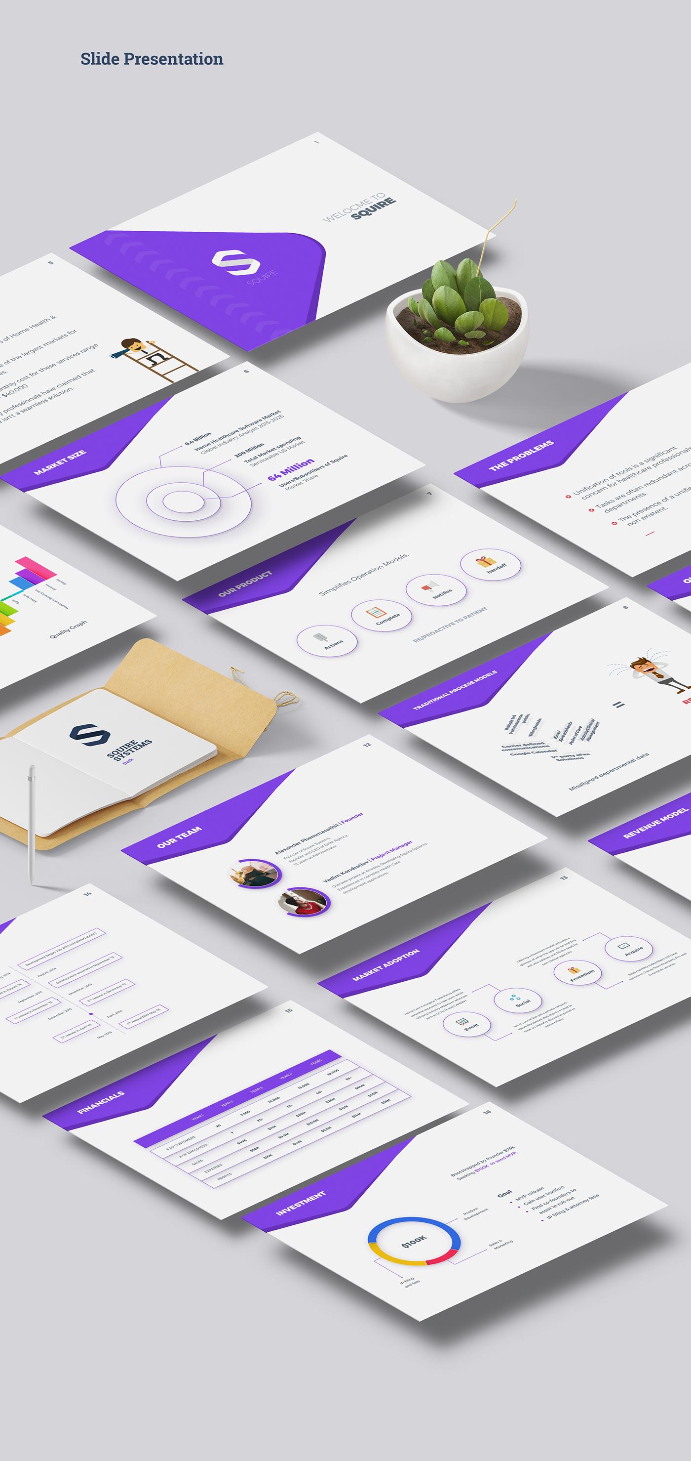 identity communication healthcare Website logo webpage