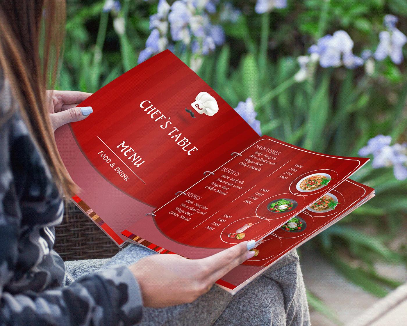 有設計感的42套菜單封面欣賞