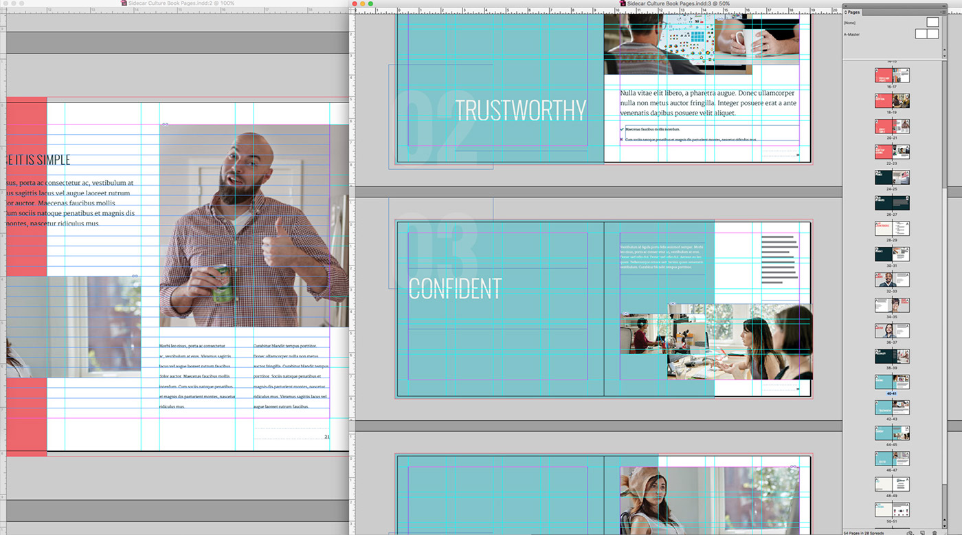 blurb indesign template - culture book template print ready on behance