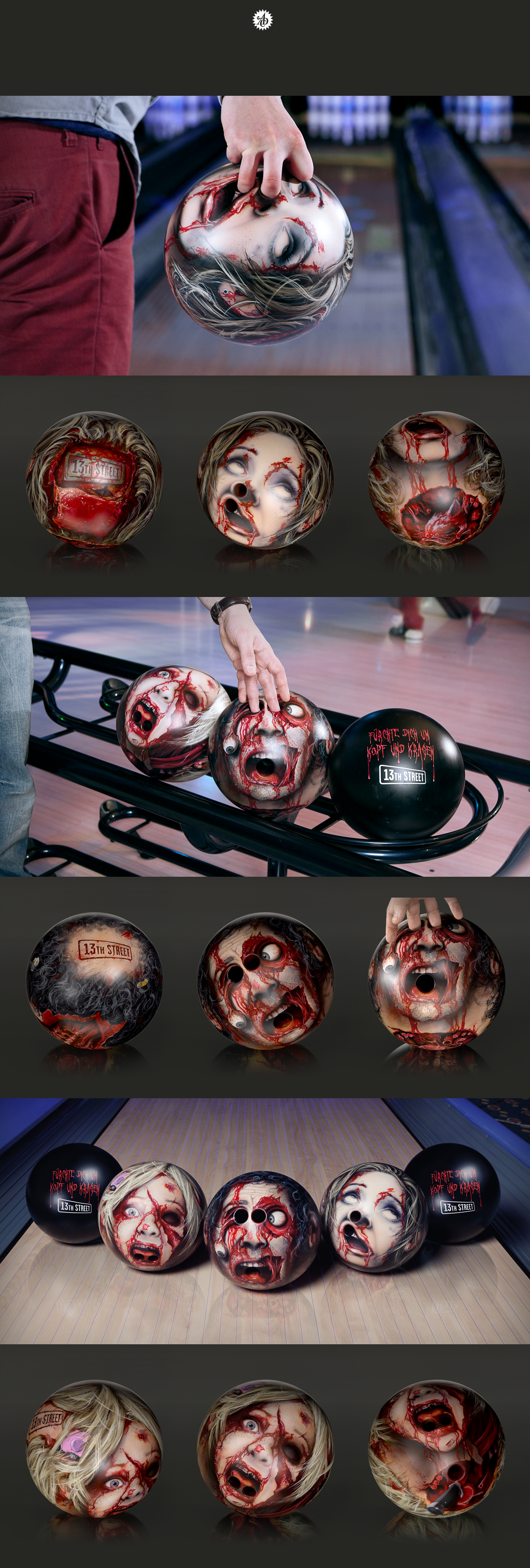 13th Street bowling heads bowlingheads JvM RUOK Schmidt-Fitzner Scholz Cannes Cannes lions