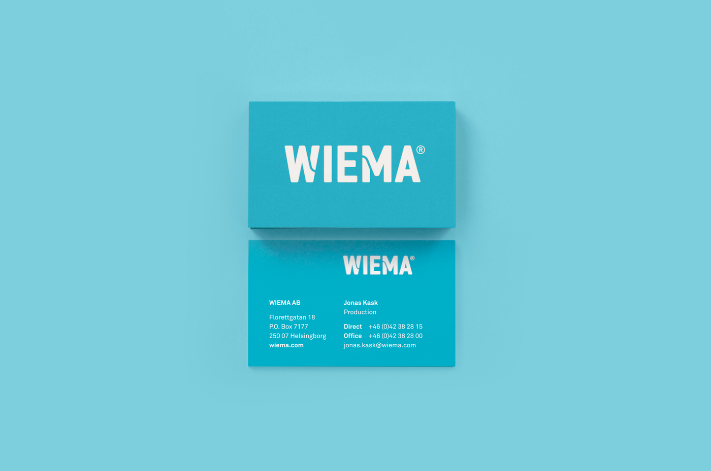 branding  dental Sweden Dental Implants turquoise type typography   graphic design  Packaging products