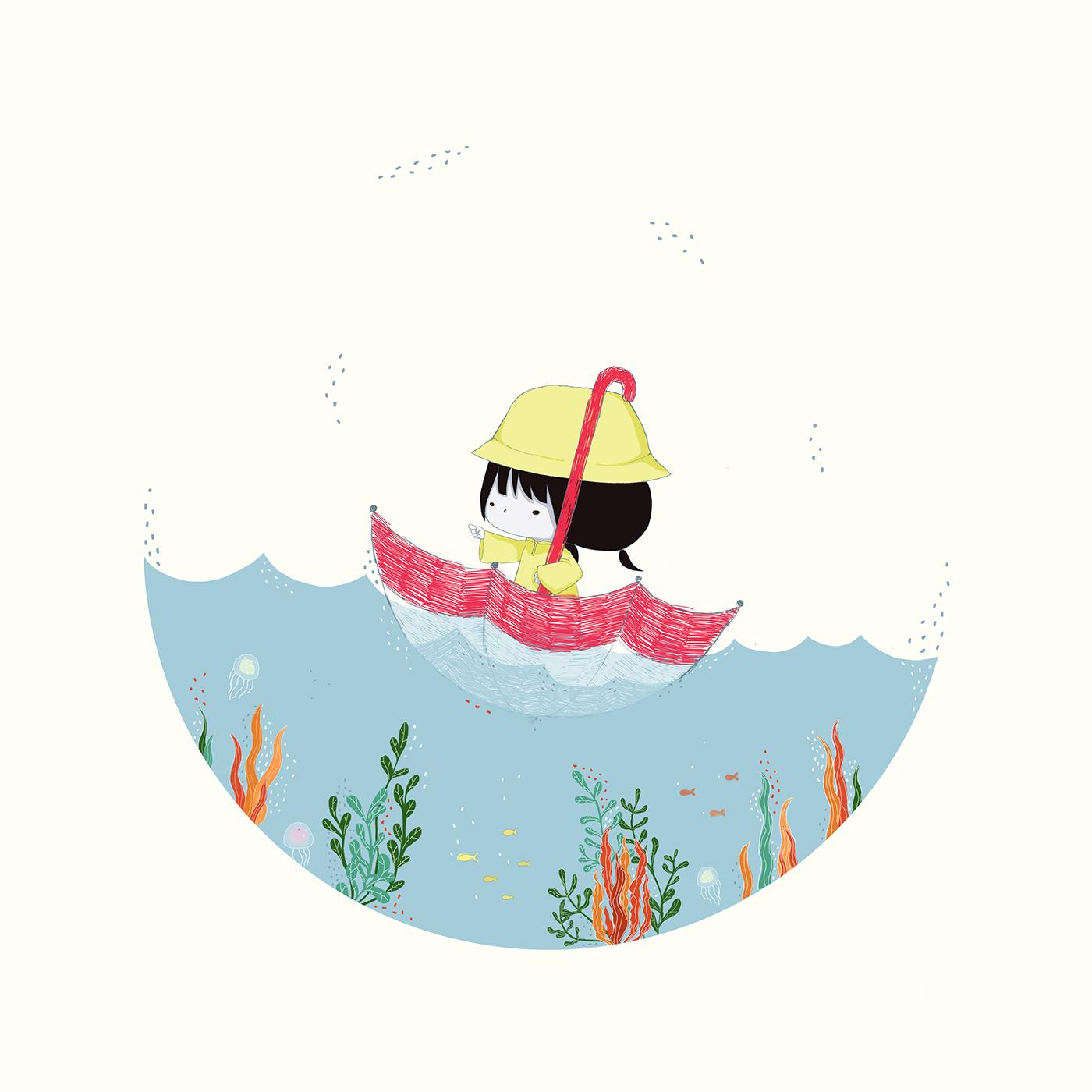 有設計感的45張韓國插畫欣賞