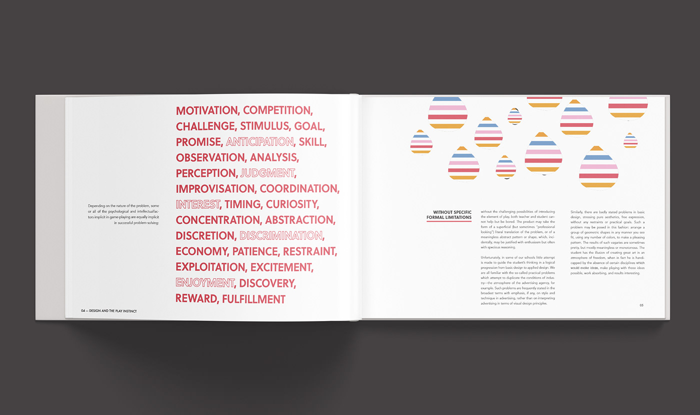 Design And The Play Instinct On Behance
