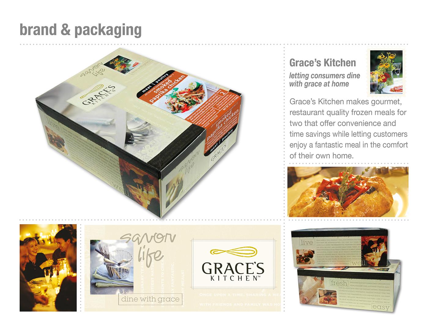 Grace\'s Kitchen Brand & Packaging Design on Behance