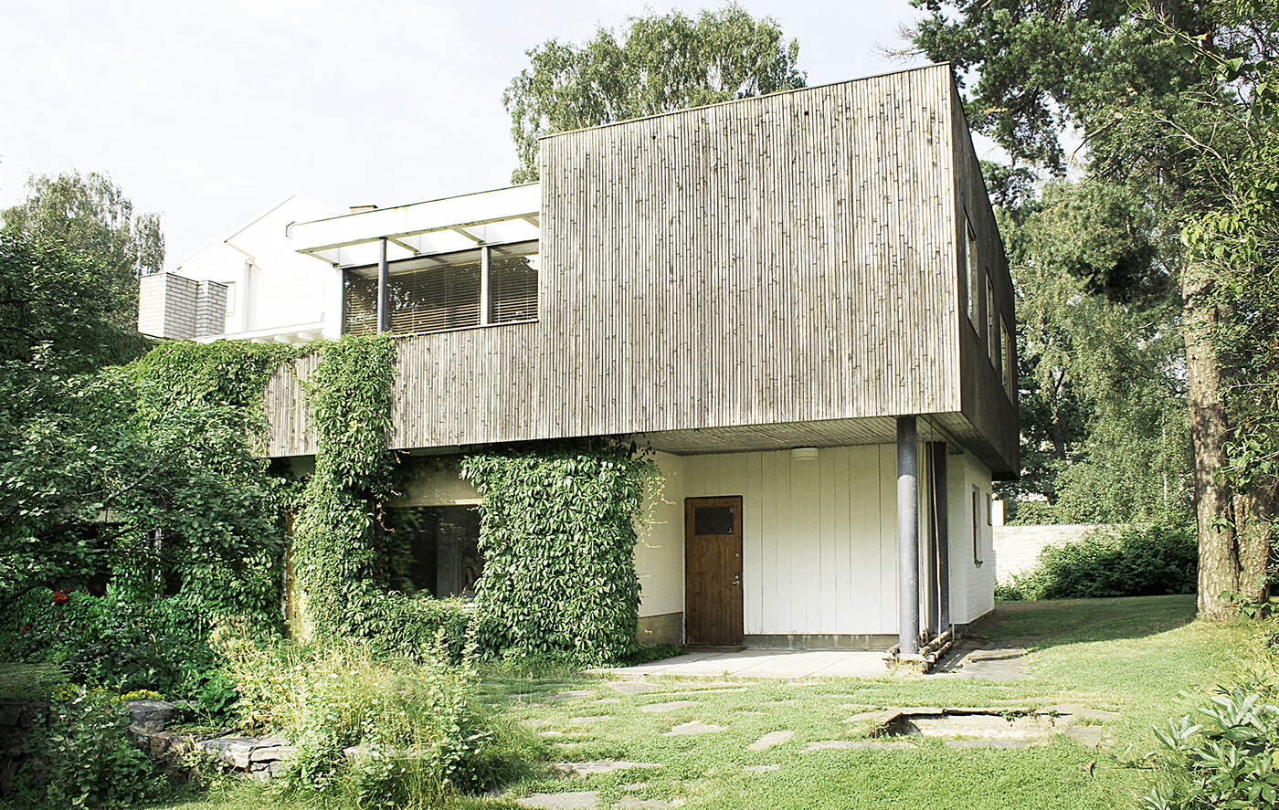 Alvar aalto house on behance for The aalto house