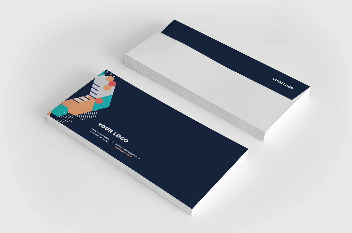 colorful modern cool stationery on behance rh behance net cool stationery brands