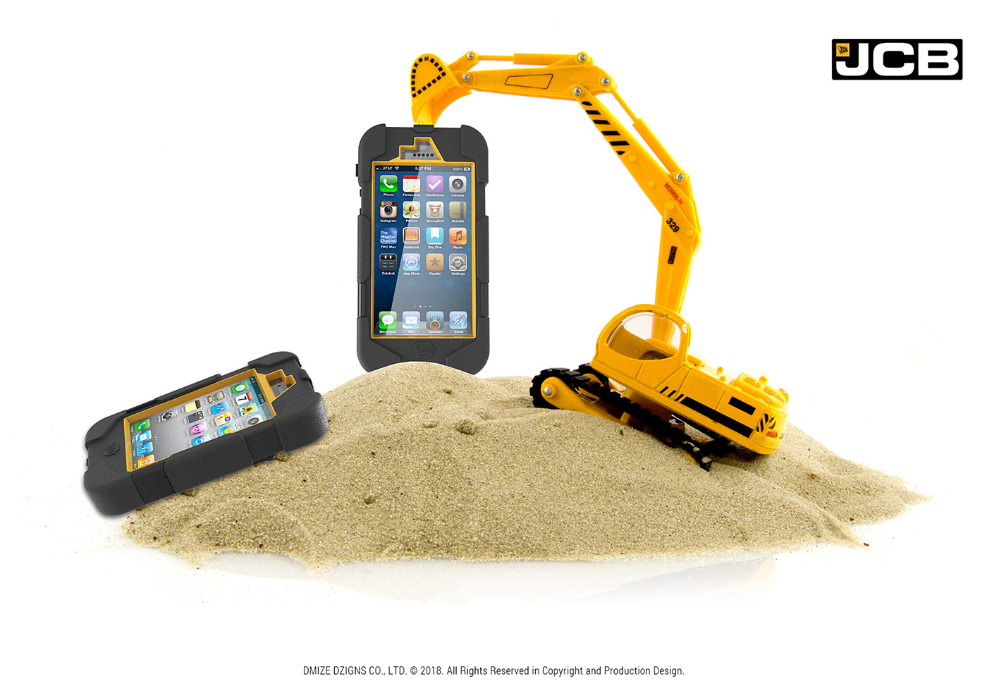 Jcb Iphone Case