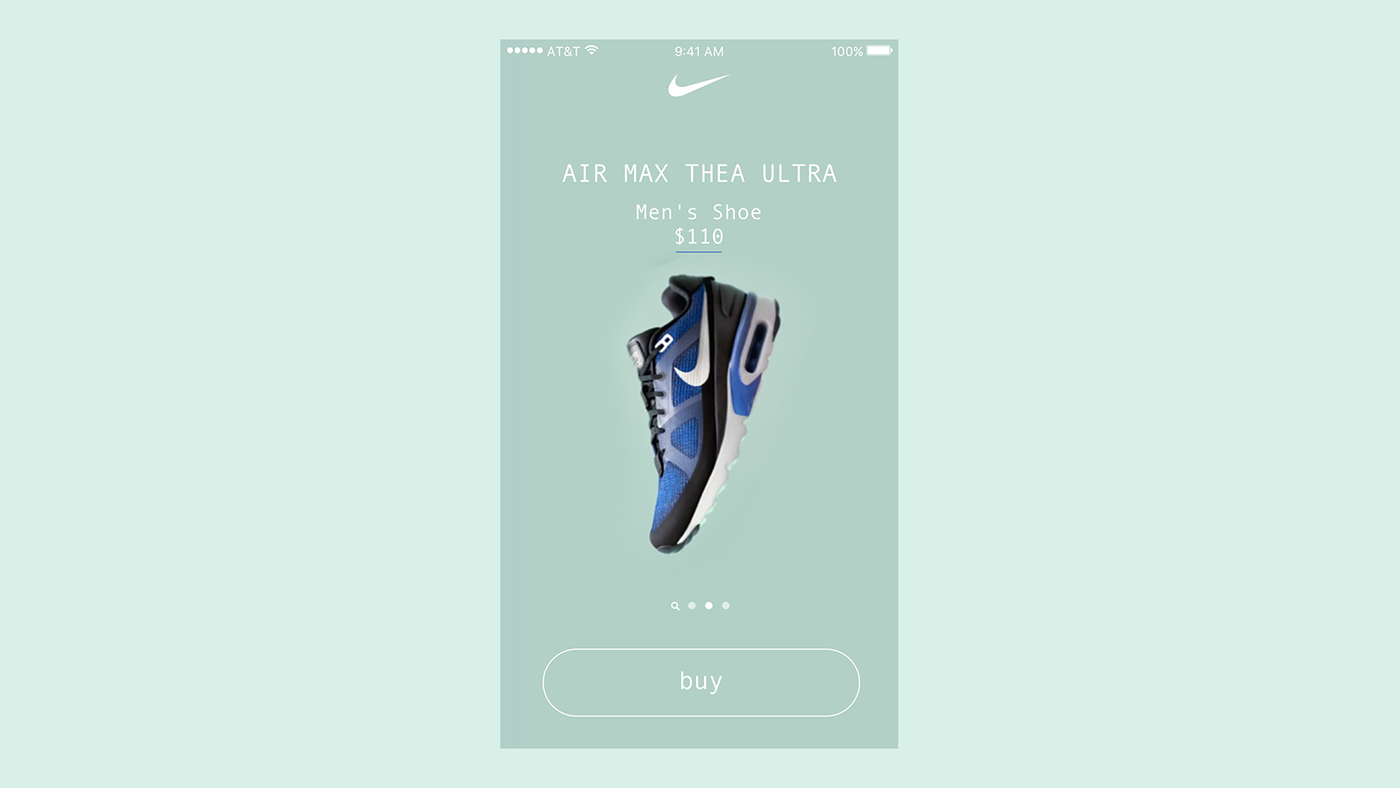 ios design sketch swift prototype Nike
