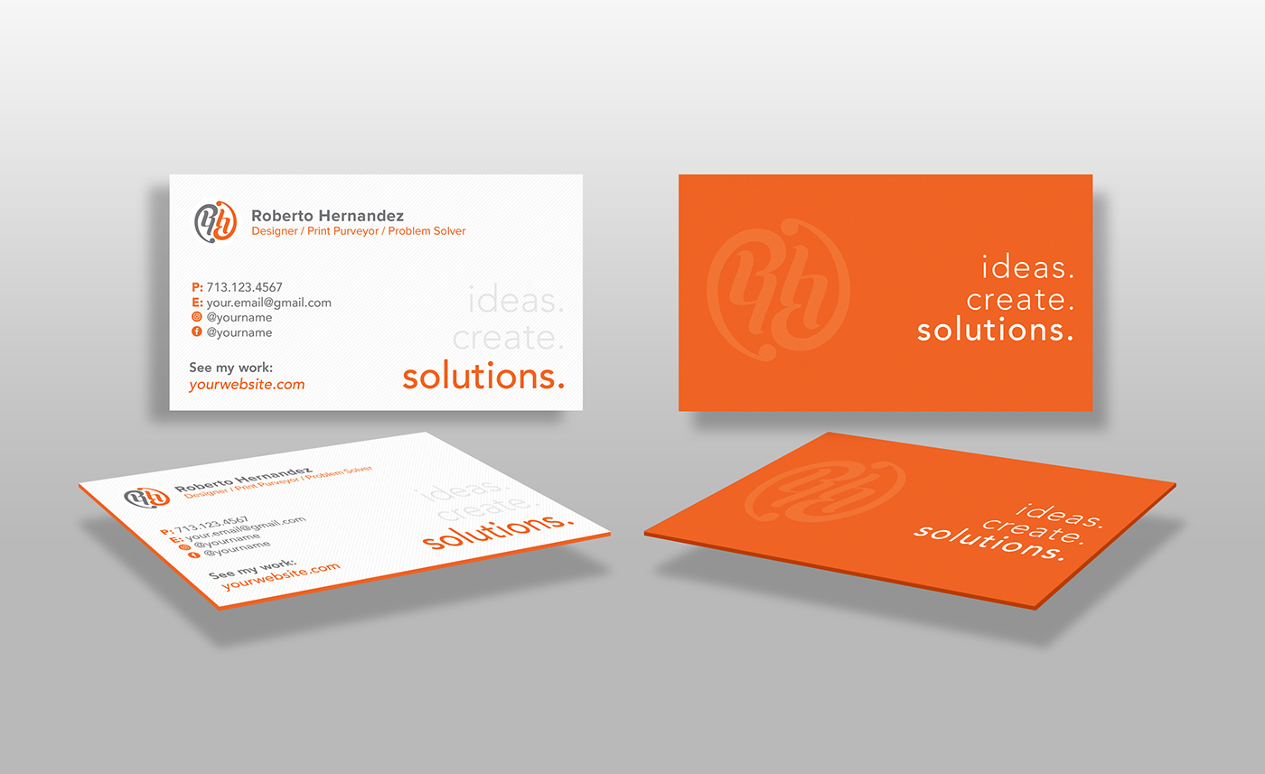 Colored edge business card mockup on behance colored edge business card mockup colourmoves